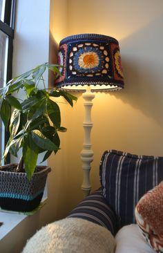 Crochet Mandala Lampshade