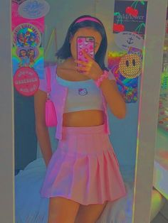 Vintage Outfits, Retro Outfits, Cute Casual Outfits, Vintage Fashion 90s, Pink Outfits, Indie Outfits, Teen Fashion Outfits, Grunge Outfits, Aesthetic Indie