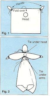 hankerchief dolls | Homemaker's Journal: Pioneer Handkerchief Dolls | Primary