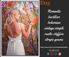 Boho wedding dresses and bridal accessories by Boho Wedding Dress, Lace Wedding, Wedding Dresses, Vintage Bohemian, French Lace, Bridal Accessories, Lace Dress, Chiffon, Romantic