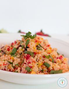Mexican Summer Fresh Couscous – Vegan   Gluten-free
