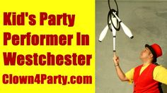 For More Info Visit: http://www.Clown4Party.com I have been a Children's Entertainer for over TEN years and have performed for thousands of children at Birthday Parties and Private Events. In The Show I perform Juggling, Magic Tricks, Giant Bubbles, Balloon Animals, Face Painting, Party Games, Ukulele Sing-a-Longs & Much More! LOCATIONS: NYC, New York City, NY, Manhattan, Brooklyn, Queens, The Bronx, Staten Island, Westchester, Yonkers, Scarsdale