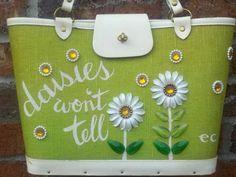 Enid Collins ~ Daisies Won't Tell bag  *Rare