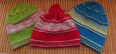 Knitted kids hat, childrens hat, spring hat