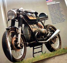 Wilkinson Bros BMW Cafe Racer in BikeCraft Magazine