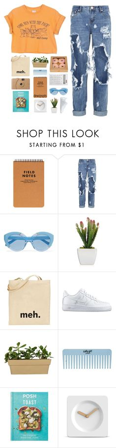"""Always took my cues from the real star"" by dewi-puspitasari ❤ liked on Polyvore featuring OneTeaspoon, Karen Walker, NIKE, Chronicle Books, LEFF Amsterdam, Muji and Poketo"