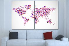 Wooden world map world map canvas art wood panel world map map wall canvas world map wall art world map wooden world map canvas map world wall art large gumiabroncs Images