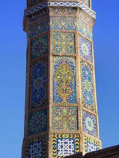 Minaret of the Herat Masjid in Afghanistan. Afghan Images Social Net Work: سی افغانستان: شبکه اجتماعی تصویر افغانستان http://seeafghanistan.com