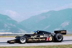 Ronnie Peterson su Lotus 78 Ford Cosworth 1978