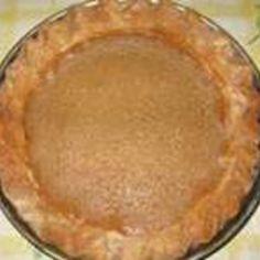 Brown Sugar Pie Recipe | Just A Pinch Recipes