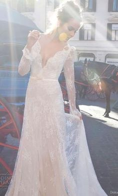 Be bold in this Inbal Dror available on PreOwnedWeddingDresses.com
