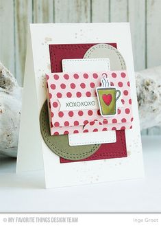All Heart, Distressed Patterns, All Heart Die-namics, Mini Note Die-namics, Wonky Stitch Circle STAX Die-namics, Wonky Stitch Rectangle STAX Die-namics - Inge Groot  #mftstamps