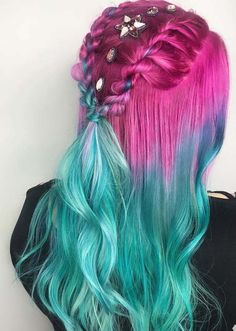 27 Adorable Pulp Riot Two Strand Twisted Braids for 2018. Explore here to see the sensational trends of two strands pulp riot braids with long hair that you may use to try nowadays. In this post we have compiled gorgeous ideas of braids with beautiful pulp riot hair colors. Women who are browsing the best braids to use on their big day they are advised to use these styles.