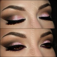 Loving this pink smokey eye!! Must try