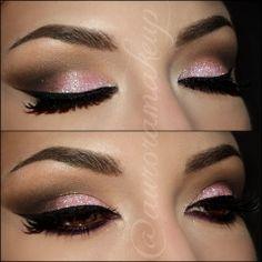 Loving this pink smokey eye!! Must try