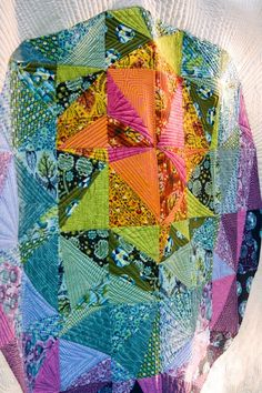 Fabric and design by Tula Pink. I just love her fresh approach to quilting!