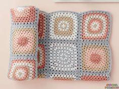 Плед из квадратов - Разное для малышей - Вязание для детей - Рукоделие