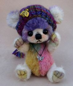 "Luciebears ""Tony "" Small Artist Bear OOAK 6"" | eBay"