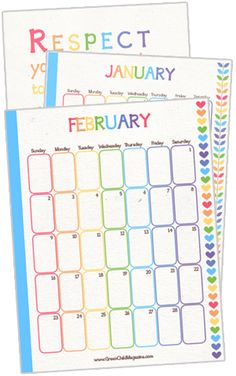 Personal Planner Basic Set Free Printable