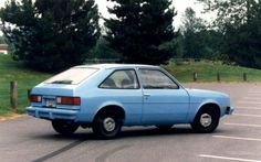 The Chevy Chevette...only mine was white and a 5 speed....