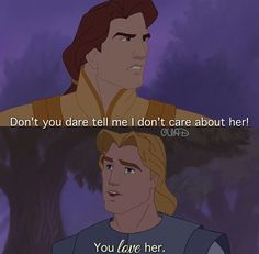 .......I still preferred John Smith.... Even though Disney made him a jerk in that movie..