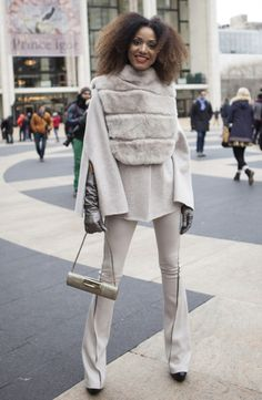 New York Fashion Week: Day 3 Street Style
