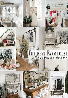 The Best Farmhouse Christmas Inspiration