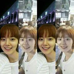 Love her smile~Hope one day she return to instagram.. #문채원 #moonchaewon  #missu…