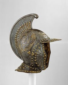 Parade Helmet à l'Antique                                                                                      Date:                                        ca. 1630                                                          Culture:                                        French, probably Paris