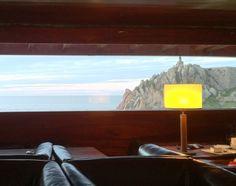 Framed view of the Ocean Boa Nova Tea House | 1956 | Leça da Palmeira | Portugal | Alvaro Siza Vieira architect | by Lino pinned with Pinvolve - pinvolve.co