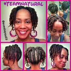 Twist-Out Updo - Nov 2014