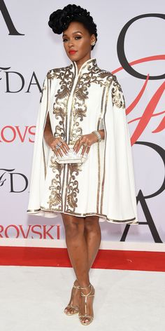 CFDA Awards 2015 Best Red Carpet Looks - Janelle Monae from #InStyle
