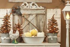 Aunt Ruthie's Fall Home Tour! | Sugar Pie Farmhouse  Love the pumpkins in the granite pan!