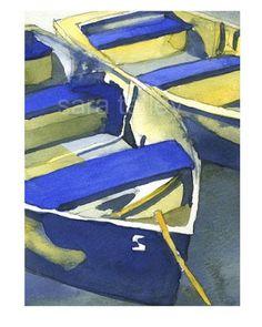 Beach Cottage Love: Sara Tetley's Coastal-Inspired Watercolors