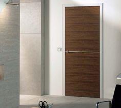 Don't You Just Love Goldea Design?: Top Ten Popular Interior Wood Doors(Chapter V) Bathroom Furniture, Home Furniture, Internal Doors, Walnut Finish, Retro Art, Types Of Art, Wooden Doors, Door Design, Houzz