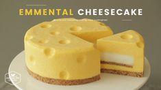 톰과 제리 치즈케이크! 노오븐 에멘탈 치즈케이크 만들기 : Tom&Jerry No-Bake Emmental Cheesecake :...