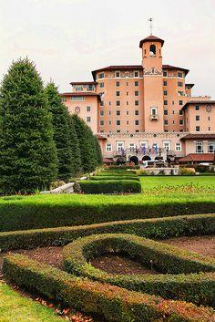 Broadmoor Hotel in Colorado Springs