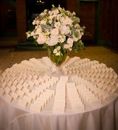 Guest cards #blisschicago #weddings #guest #tableassignments #flowers #tables