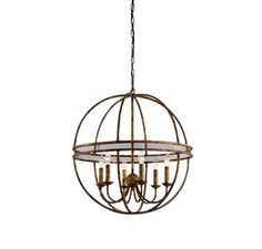 Chelsea House Tuscan Chandelier