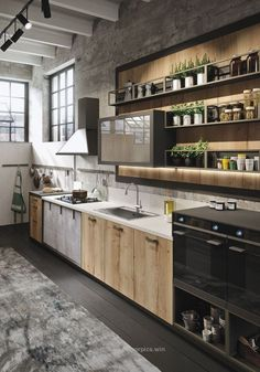 Check it out Amazing Industrial Kitchen Design, decorextra.com/… The post Amazing Industrial Kitchen Design, decorextra.com/…… appeared first on Home Decor Designs .