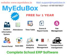 Information Report, Student Information, Resource Management, Event Management, Student Attendance, Software Online, All Schools, School Events, Tracking System