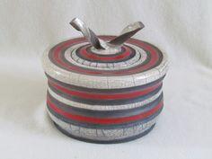 boite raku céramique artisanal fait mains grès Jean-Pierre Meyer