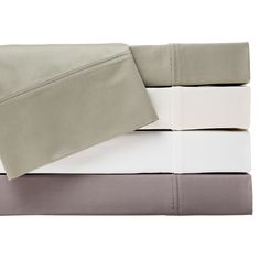 Made with silky-soft 400 thread count cotton, the Hemstitch Sheet Set will feel splendid next to your skin while you rest. Available in sage green, ivory, grey and white, these sheets will beautifully and softly accent your bedroom decor.