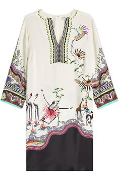Etro - Printed Silk Dress