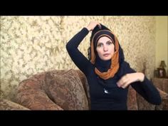 Hijab Tutorial # 29( Double Fancy Hijab) Muslim Images, How To Wear Hijab, Eid Outfits, Hijab Fashionista, Hijab Tutorial, Fashion Mask, Muslim Women, Modest Fashion, Hijabs