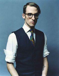 Ian Bruce by Neil Gavin  One day I'll start wearing vests.