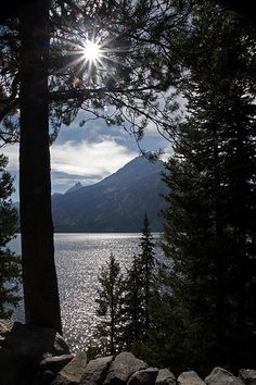 Jenny Lake, Grand Teton National Park, Wyoming...tent camped in this tiny little camp. One of the best for camping!