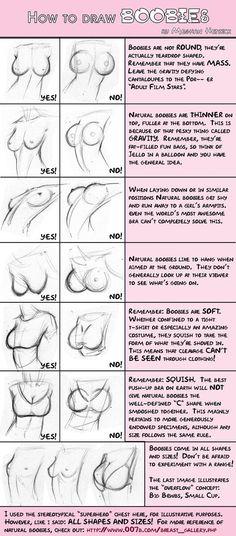 Boobie guide by Meghan Hetrick