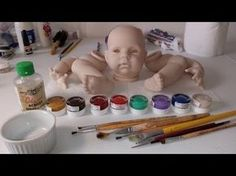 micro rooting a reborn doll - YouTube