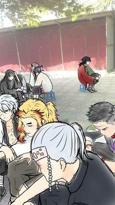 Read Tomioka Giyuu from the story ❥K̟i̟m̟e̟t̟s̟u̟ N̟o̟ Y̟a̟i̟b̟a ̟✎doujinshi. Anime Meme, Manga Anime, Anime Ai, Funny Anime Pics, Otaku Anime, Slayer Meme, Hxh Characters, Fanart, Demon Hunter